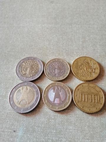 Lote De Monedas De Euro.