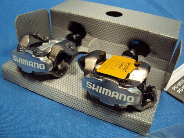 Nuevo.  Pedales Automáticos Shimano Pd M5