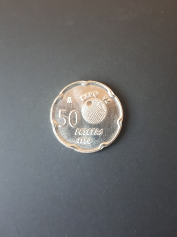 50 Pesetas Año 1990