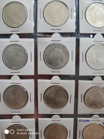 Lote 10 Monedas De 12 Euros Plata 2004
