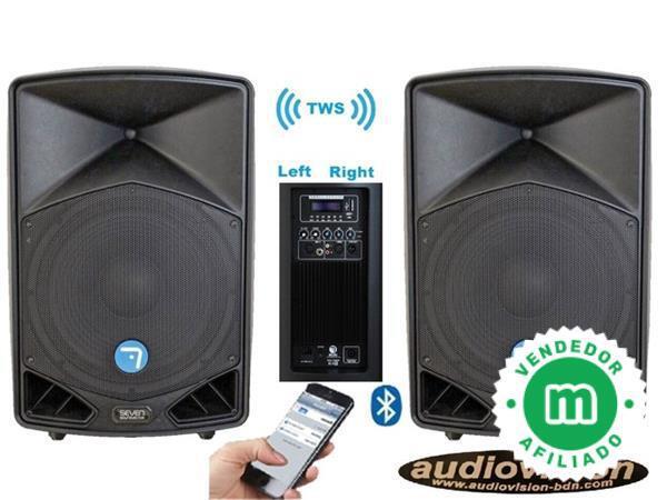 ALTAVOCES DJ AMPLIFICADO AUDIOVISION BDN - foto 1