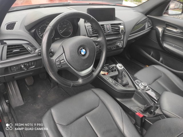BMW 120 D-184 CV,  NAVY,  CÁMARA,  PIEL,  ET - foto 8