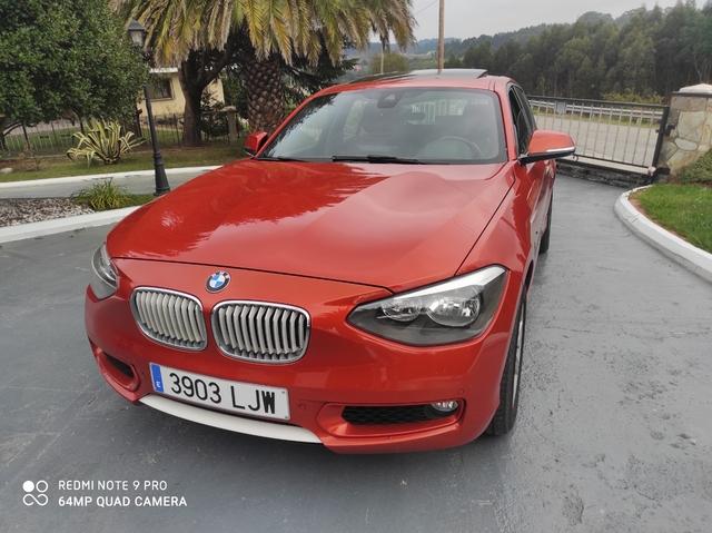 BMW 120 D-184 CV,  NAVY,  CÁMARA,  PIEL,  ET - foto 1