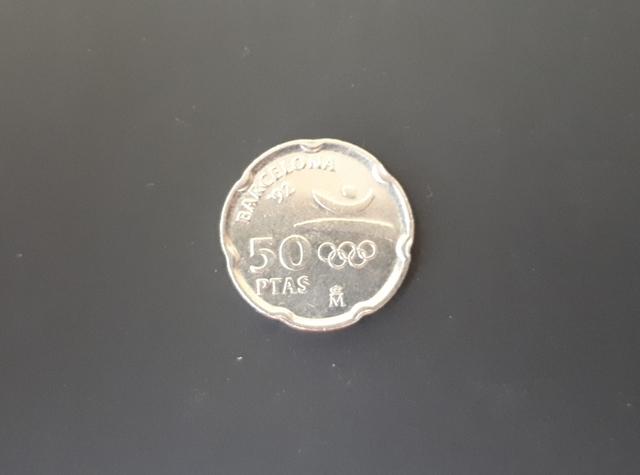 50 Pesetas 1992