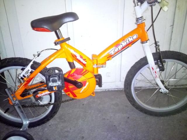 Bicicleta Mtb De 16 Pulgadas