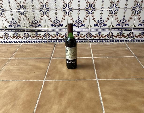 Botella Vino Tinto Viña Tondonia 1985