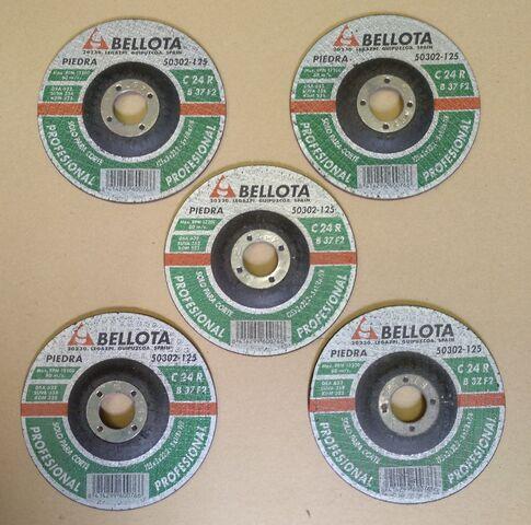 5 Discos De Corte 125 Mm Para Amoladora