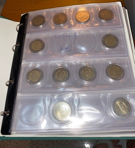 Se Vende Colección Monedas De Euro