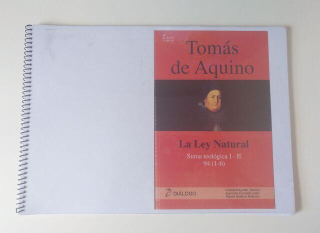 LA LEY NATURAL SANTO TOMÁS DE AQUINO - foto 1