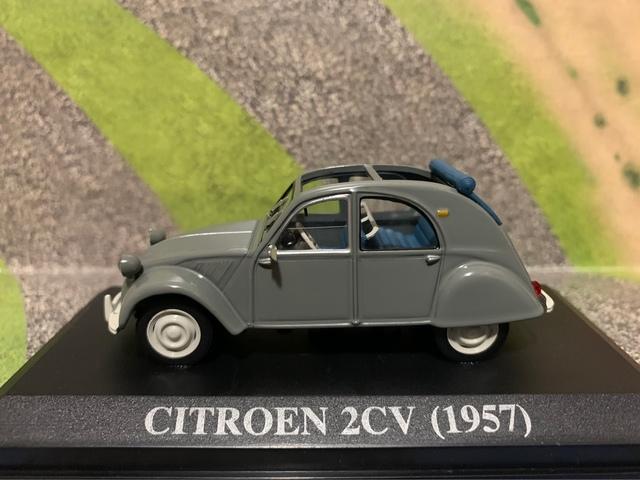 Citroen 2Cv (1957) Escala 1:43