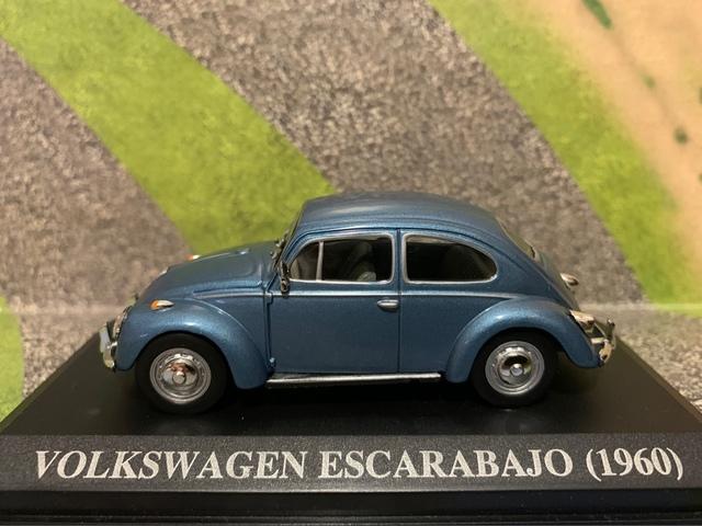 Volkswagen Escarabajo (1960) Escala 1/43