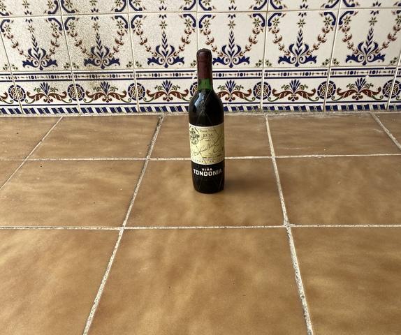 Botella Vino Tinto Viña Tondonia 1987