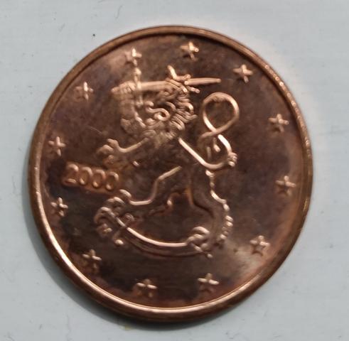 Monedas Céntimos De Euro Finlandia