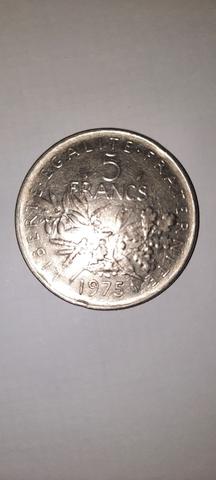 Monedas 5 Francos