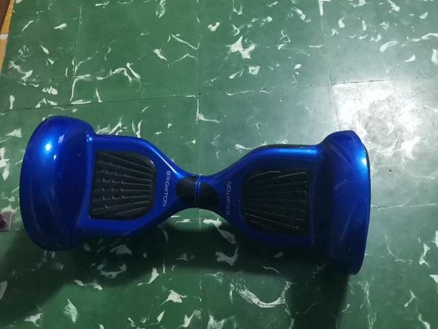 Patinete Eléctrico Azul Grande