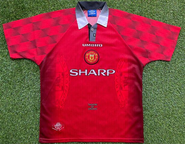 Manchester United 1996-97 Xl Camiseta