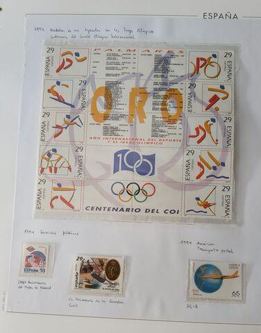 Sellos Nuevos De Colección España 1994