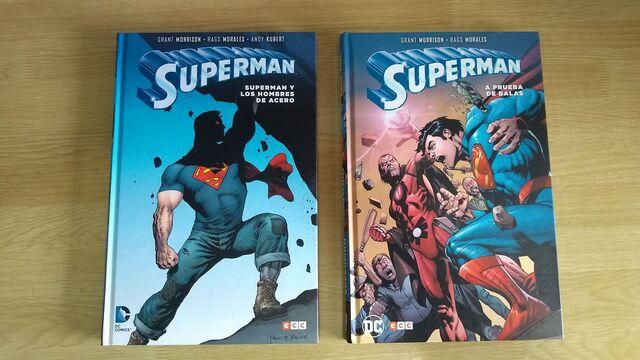 Lote Tomos Superman De Grant Morrison