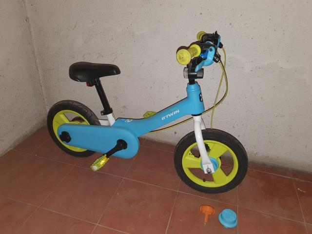 "Bici Infantil 10\"" Con Y Sin Pedales"