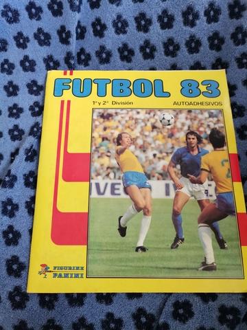 Album De Cromos De Futbol Año 1983