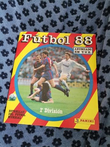 Album De Cromos De Futbol Año 1988