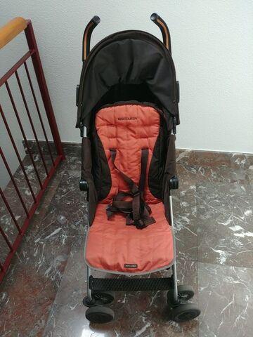 Casualplay S4 3 Rueda Cochecito (rojo): Amazon.es: Bebé