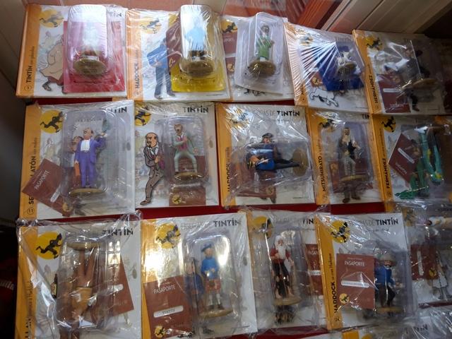 Completo Todo Figuras Tintin Altaya