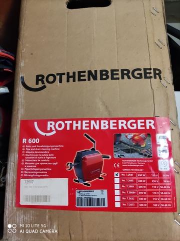 Se Vende Maquina De Desatorar Rothemberg
