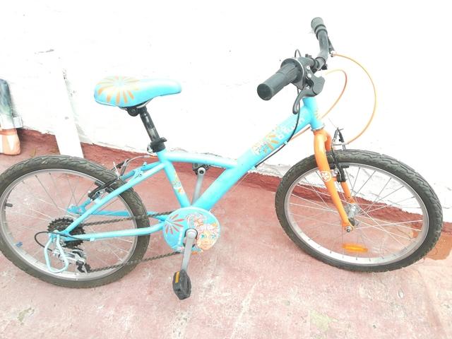 Bicicleta Llantas 20 Azul Decathlon