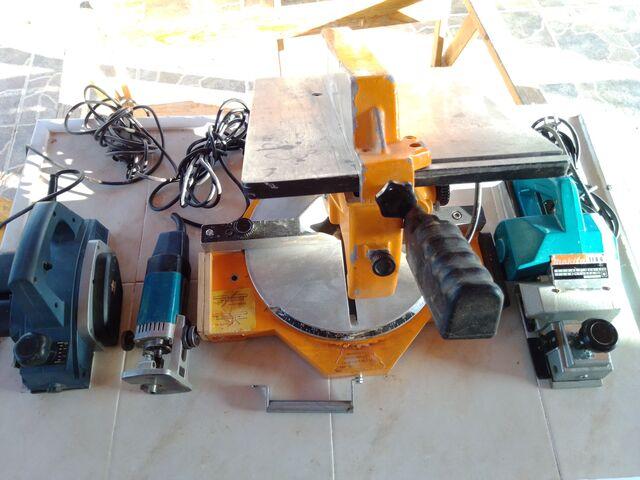 Kit Profesional De Maquinaria Carpinterí