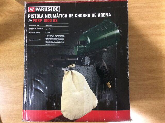 Pistola Neumatica Chorro Arena