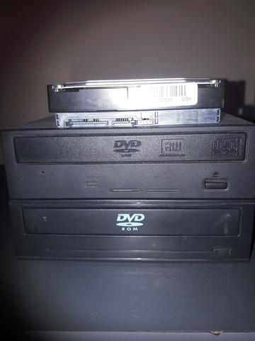 DISCO DURO,  GRABADORA,  DVD,  TARJETAS. . .  - foto 1