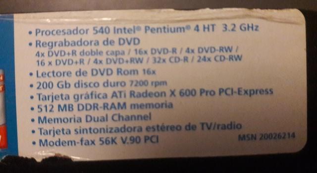 DISCO DURO,  GRABADORA,  DVD,  TARJETAS. . .  - foto 3