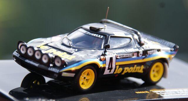 Lancia Stratos Hf Rallye De Montecarlo 1
