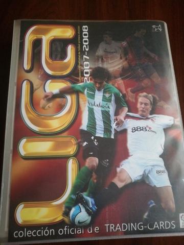 Colección Cromos Estadio 2007-2008