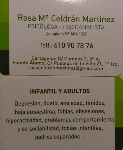 PSICÓLOGA ROSA CELDRÁN - foto 3