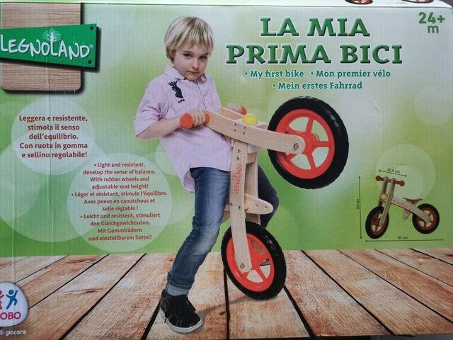 Bicicleta De Madera Legnoland