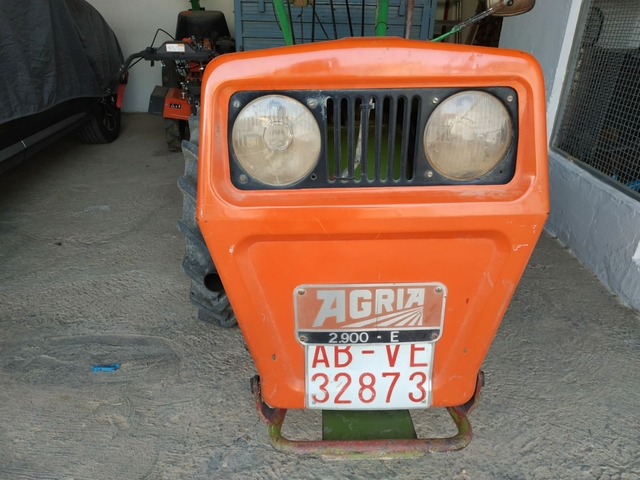 MOTOCULTOR AGRIA REMOLQUE - foto 1