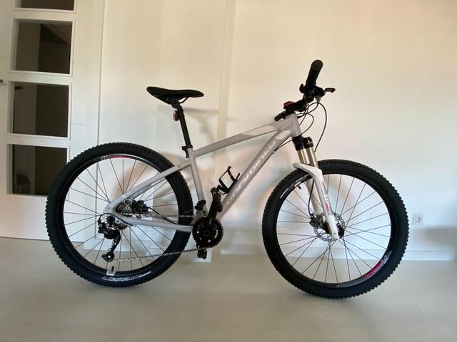 "Bicicleta Btt St 540 Mujer Gris \""S\"""