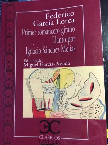 PRIMER ROMANCERO GITANO-F.  GARCÍA LORCA - foto 1