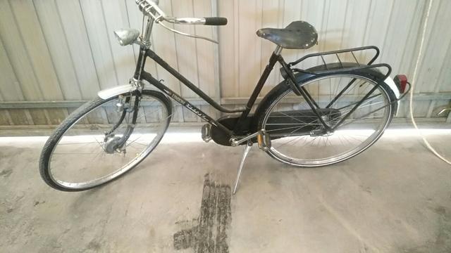 Bicicleta De Varillas Tipo Olandesa.
