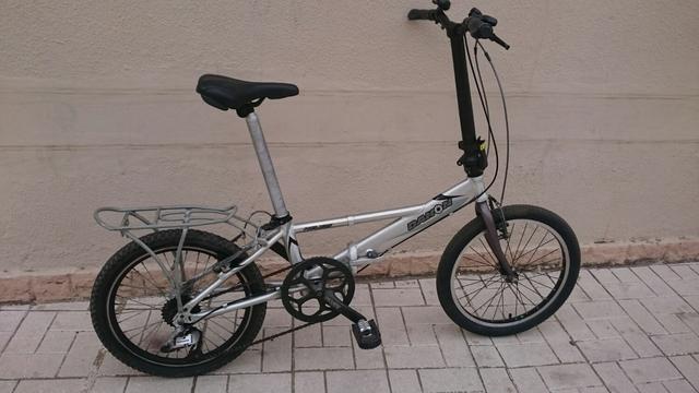 Bicicleta Plegable Adulto De Aluminio