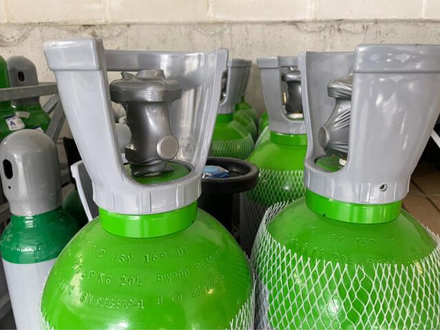 Botella De Argón 20 Litros Soldadura