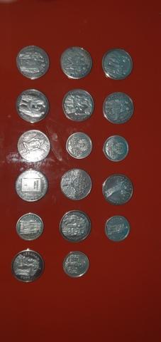 Colección De Monedas Plata . Catolicas