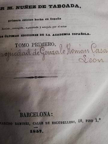 DICCIONARIO ESPAÑOL-FRANCÉS AÑO 1957 - foto 3
