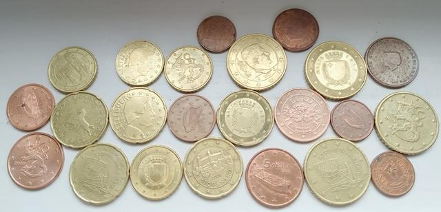 Monedas De Centimos De Euro