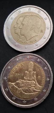Moneda Conmemorativa De 2 Euros España
