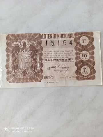 BILLETES COMPLETOS DE 1953 Y 1954 - foto 1