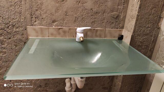Lavabo De Vidrio Templado