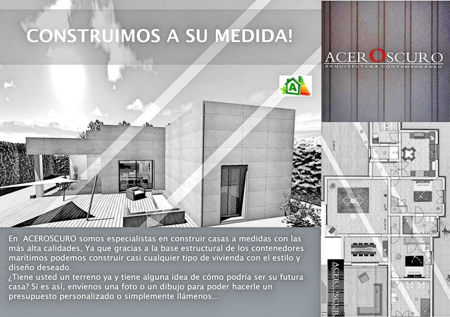 CASAS CONTAINER MAS LUJOSAS  ACEROSCURO - foto 2